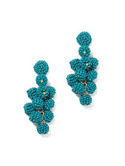 Seed Bead Spherical Drop Earring - New York & Company