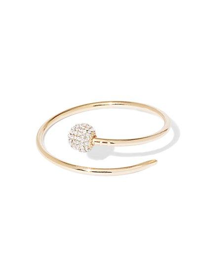 Shimmering Bangle Bracelet  - New York & Company