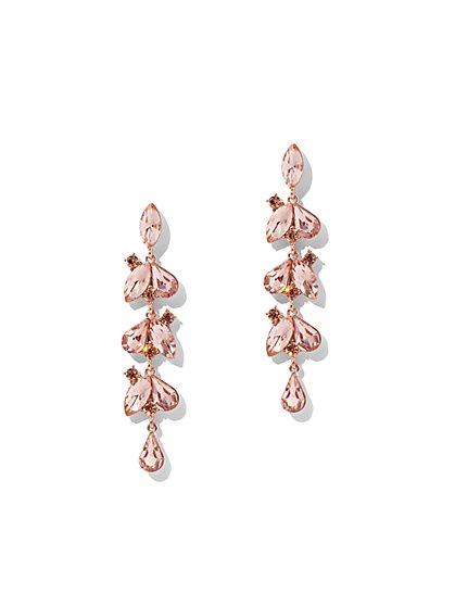 Shimmering Linear Drop Earring - New York & Company