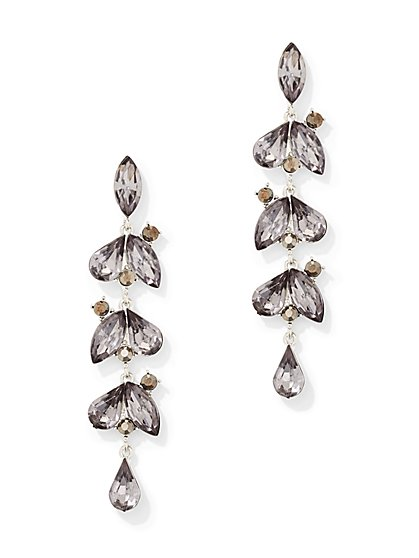 Shimmering Linear Drop Earring - New York & Company