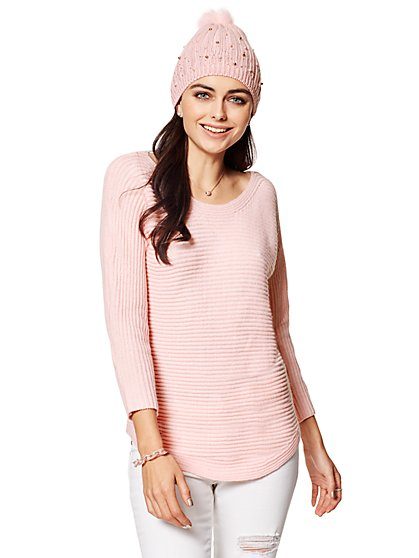 Shirttail Dolman Sweater - New York & Company