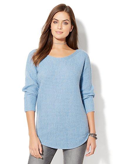 Shirttail Dolman Sweater - New York & Company