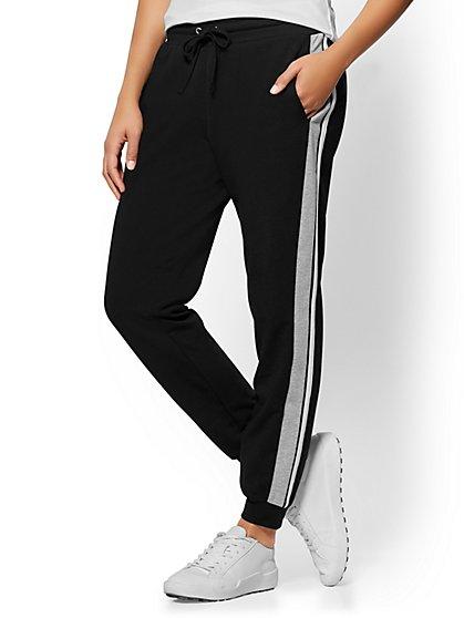 Side-Stripe Jogger Pant  - New York & Company