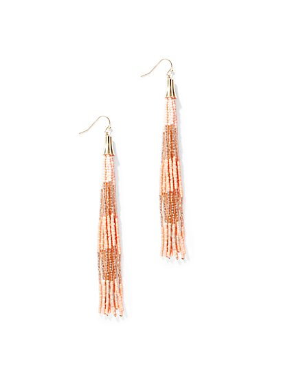 Sleek Tassel Drop Earring - New York & Company