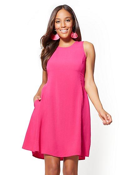 Sleeveless Shift Dress - New York & Company