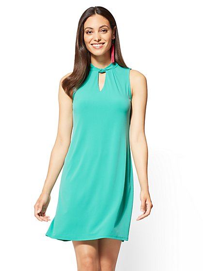 Sleeveless Swing Dress - New York & Company