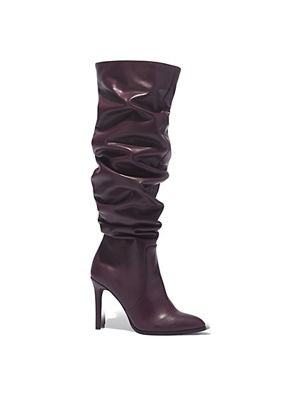 Slouch Stiletto Boot  - New York & Company