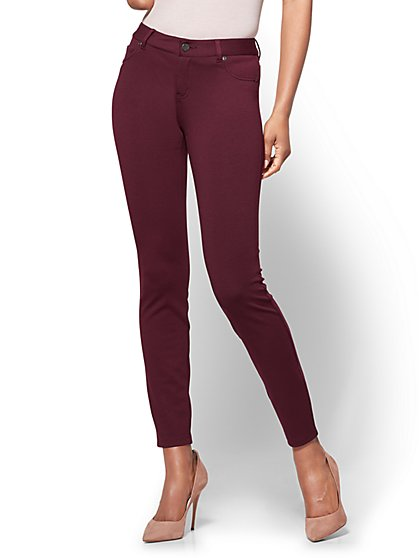 Soho Jeans - 5-Pocket Legging - Ponte - Petite - New York & Company