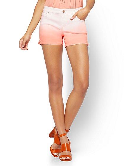 Soho Jeans - Bowery 4 Inch Short - Ombré - New York & Company
