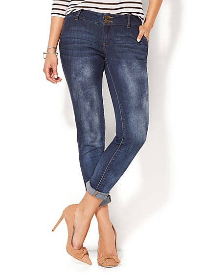 Soho Jeans - Boyfriend - Dark Cloud Wash - New York & Company