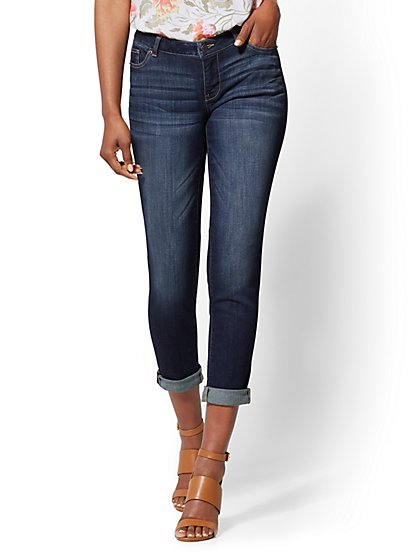 Soho Jeans - Boyfriend - Deep End Blue - New York & Company