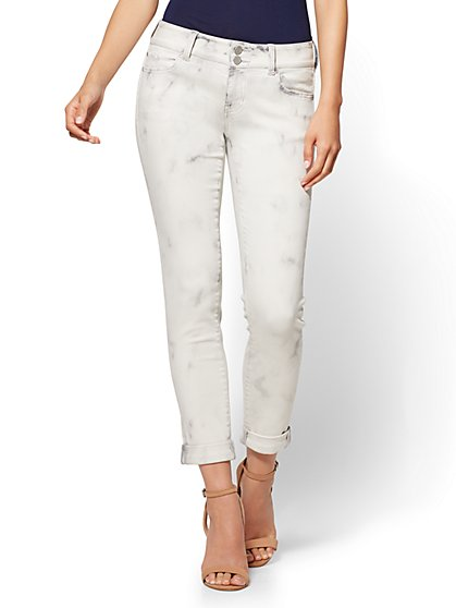 Soho Jeans - Boyfriend - Luna Grey Wash - New York & Company