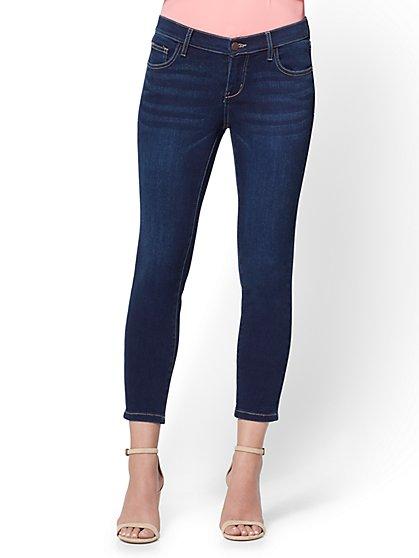 Soho Jeans - Capri Legging - Blue Hustle Wash - New York & Company