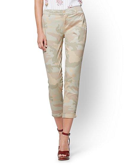 Soho Jeans - Chino Boyfriend - Camo Print - New York & Company