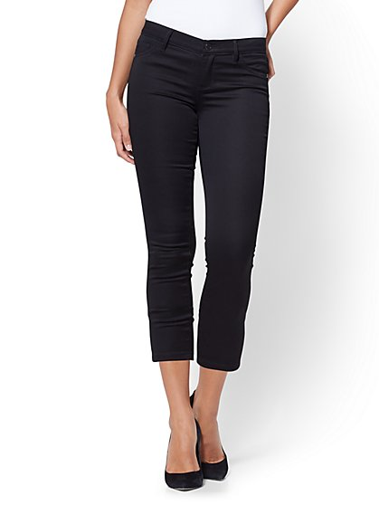 Soho Jeans - Crop Legging - Black - New York & Company