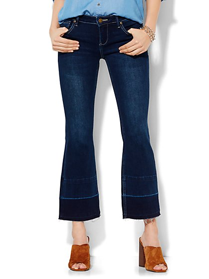 Soho Jeans - Cropped Flare - Released Hem - New York & Company