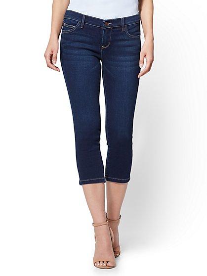 Soho Jeans - Cropped Legging - Blue Hustle Wash - New York & Company