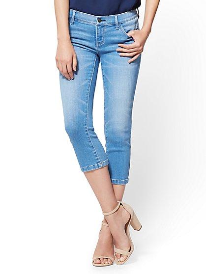 Soho Jeans - Cropped Legging - Heartbreaker Blue Wash - New York & Company