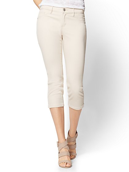 Soho Jeans - Cropped Legging - New York & Company