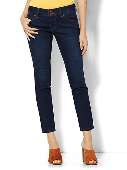 Soho Jeans - Curve Creator Ankle Legging - Highland Blue Wash - New York & Company