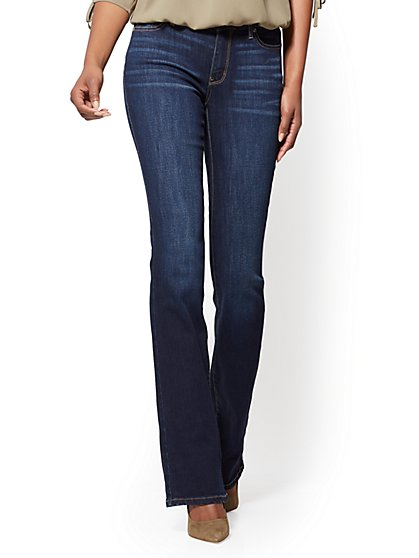 Soho Jeans - Curvy Bootcut - Blue Tease Wash - Tall - New York & Company