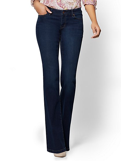 Soho Jeans - Curvy Bootcut - Highland Blue Wash - New York & Company