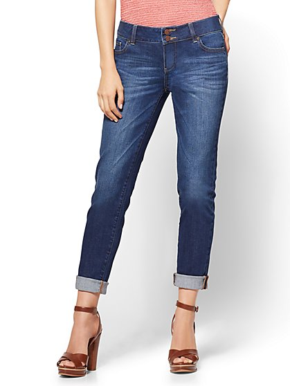 Soho Jeans - Curvy Boyfriend - Blue Honey Wash - New York & Company