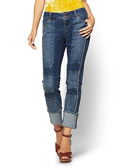 Soho Jeans Curvy Boyfriend  - New York & Company