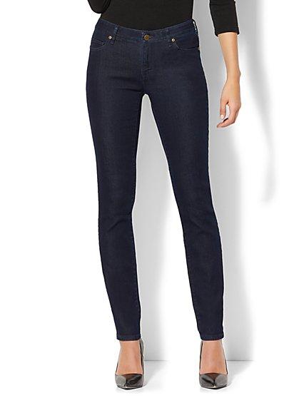 Soho Jeans - Curvy Skinny - Dark Midnight Wash - Petite - New York & Company