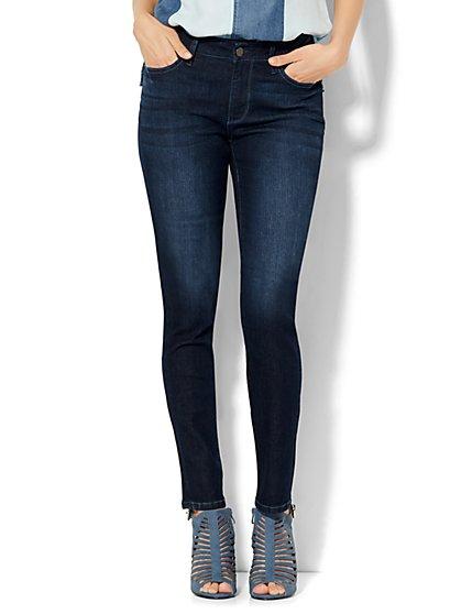 Soho Jeans - Curvy Skinny - Endless Blue Wash - Tall  - New York & Company