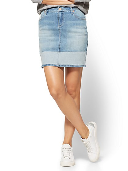 Soho Jeans Denim Skirt  - New York & Company