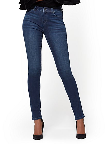 Soho Jeans - High-Waist Skinny - Endless Blue Wash - Tall - New York & Company