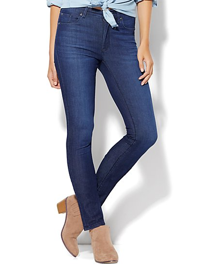 Soho Jeans - High-Waist Skinny - SuperStretch/4 - Blue Lake Wash  - New York & Company