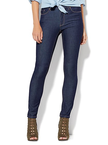 Soho Jeans - High-Waist Skinny - SuperStretch/4 -Rinse  - New York & Company