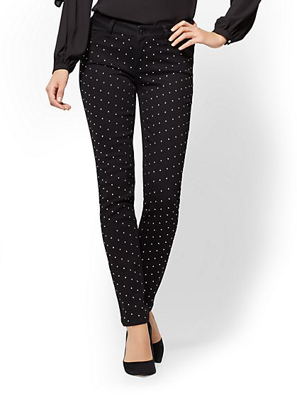 Soho Jeans - Legging - Black Studded - New York & Company