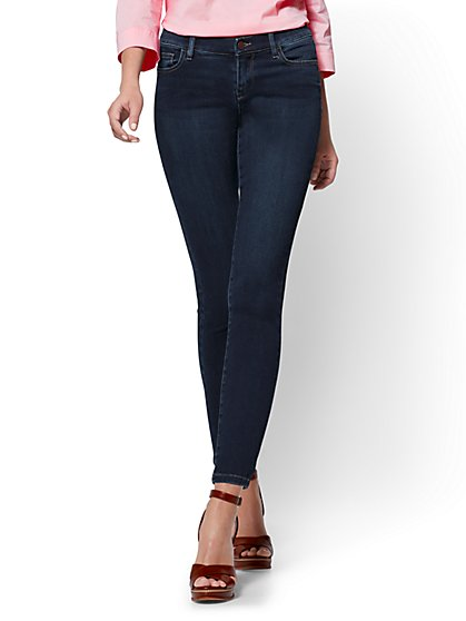 Soho Jeans - Legging - Blue Hustle Wash - Petite - New York & Company