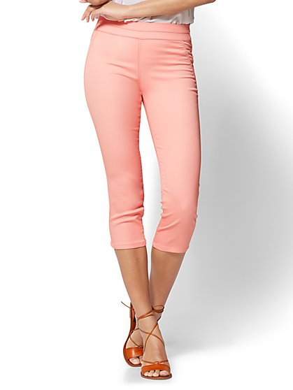 Soho Jeans - Pull-On Cropped Legging - New York & Company