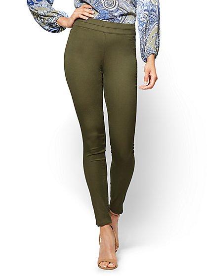 Soho Jeans - Pull-On High-Waist Legging - Petite - New York & Company