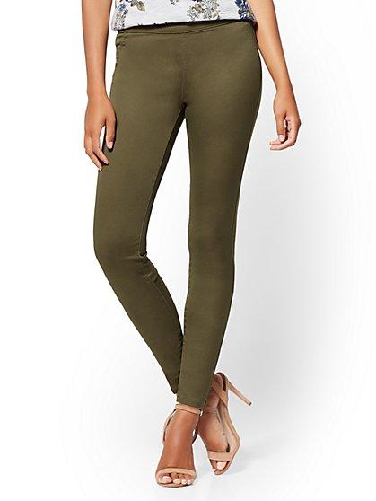 Soho Jeans - Pull-On High-Waist Legging - New York & Company