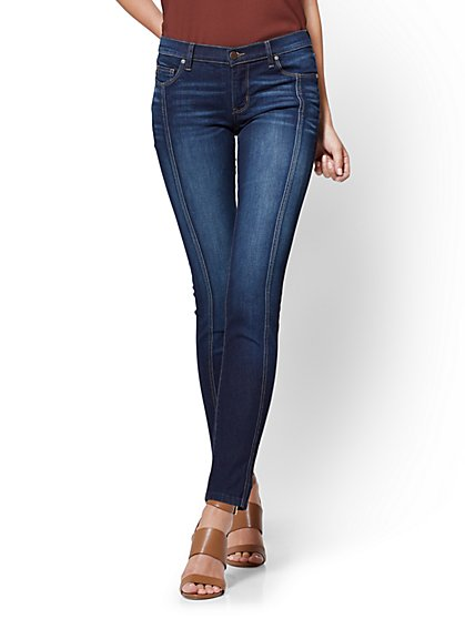 Soho Jeans - Seamed Skinny - Blue Tease Wash - New York & Company