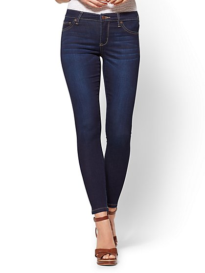 Soho Jeans - Seamless Ankle - Blue Hustle Wash - New York & Company