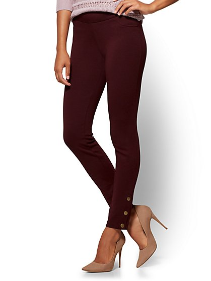 Soho Jeans - Side-Button Legging - New York & Company