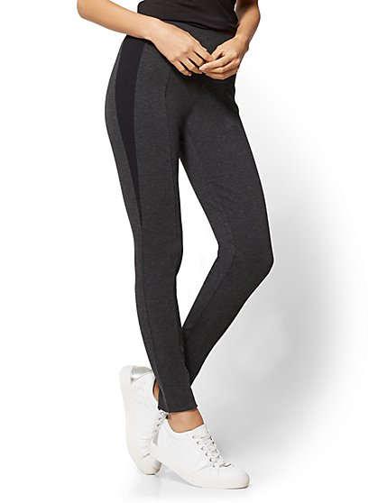 Soho Jeans - Side-Stripe Legging - New York & Company