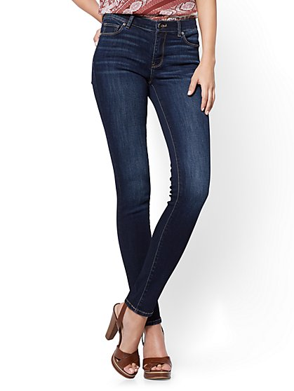 Soho Jeans - Skinny - Blue Tease Wash - Tall - New York & Company