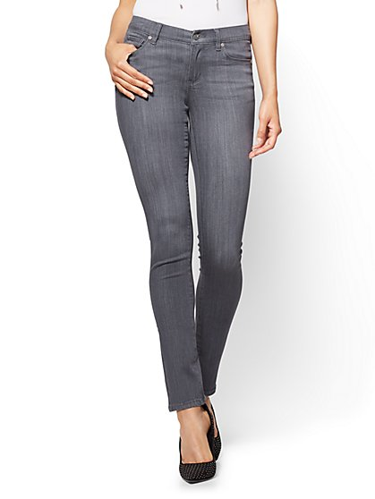 Soho Jeans - Skinny - Grey Love Wash - New York & Company