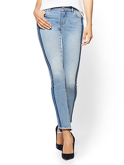 Soho Jeans - Skinny Released Hem - Secret Blue Wash - New York & Company