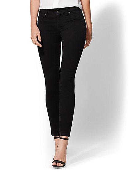 Soho Jeans - Slim-Leg Ankle - Black - New York & Company