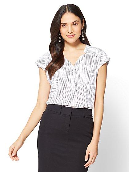 Soho Soft Shirt - Short Sleeve - New York & Company
