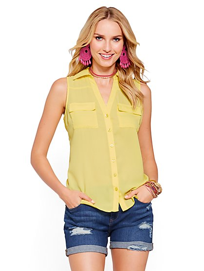 Soho Soft Shirt - Sleeveless - New York & Company