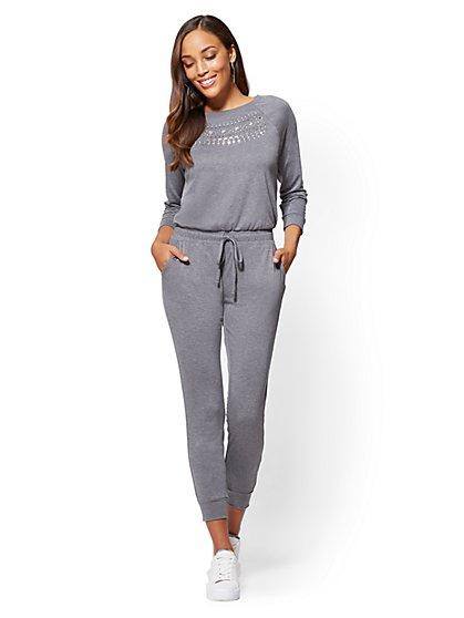 Soho Street - Embellished Jumpsuit - New York & Company
